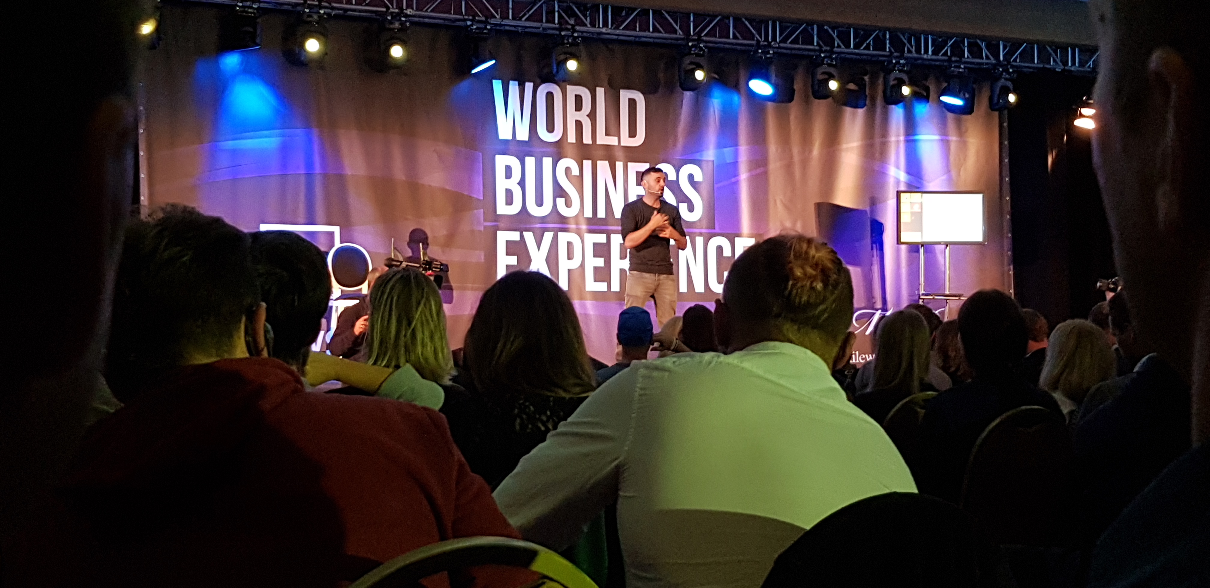 Gary Vee on stage!